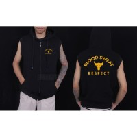 ROMPI PROJECT ROCK UNDER ARMOUR VEST HOODIE PROJECT ROCK