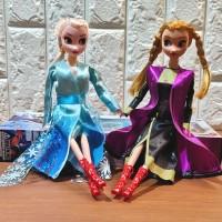 Mainan Anak Boneka Barbie Frozen Elsa Anna Harga Satuan