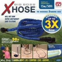 Expandable Hose 50 Feet 15 Meter + Kepala Selang Air Water XHose Spray