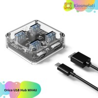Orico USB Hub 3.0 4 Port Transparent Design 1 Meter - MH4U/F4U