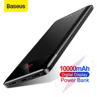 BASEUS MINI CU POWER BANK CHARGER DIGITAL DISPLAY DUAL USB