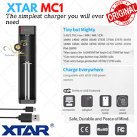 Charger Xtar MC1 Single Slot Battery Charger Original