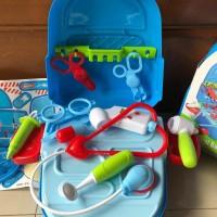 Kado Mainan Anak Dokter Medical Pack isi 17 pcs / Mainan Dokter anak