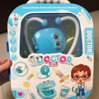 Mainan Dokter Gigi Anak Trolley edisi Koper Dorong / Dentist Toys