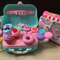 Kado Mainan anak Perempuan Koper dessert / mainan Anak Koper Dessert