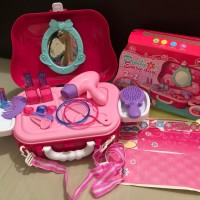 Kado Mainan Anak koper Dream fashion Pretty Everyday 2 in 1 Little Bag