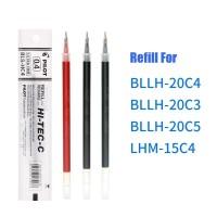 Refill/ Isi Pen Pilot Hi-Tec 0.3 dan 0.4 Hitam/Biru - Hitam, 0.3