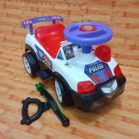 Mainan Mobil Duduk Polisi/ mobil dorong polisi