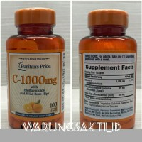 Puritans Pride Vitamin C-1000mg (100capsule)