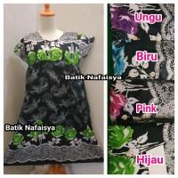 Daster Payung Baju tidur Bumil Busui Batik Luna Adem gak luntur