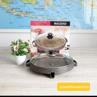 HC Bulgogi Pan/ Alat panggang BBQ Yakiniku pan 32 cm anti lengket