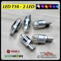 Lampu LED T10 W5W 168 Osram / 2 LED / 3030 Chip