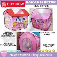 A16 Mainan Tenda Anak Rumah Rumahan Kemah Kemahan Anak Perempuan Cewek
