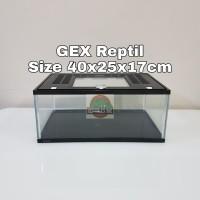 Gex Akuarium / Aquarium size 40x25x17cm Dengan Tutup
