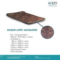 KL Jacquard - Kasur Lipat Jacquard + Oscar + Busa Super - 100