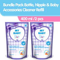 My Baby Bottle Nipple & Baby Accessories Cleanser Refill[400 mL/2 pcs]