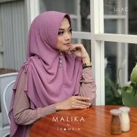 Hijab Jilbab Instan Khimar Malika Tali Serut Syari 2 layer Termurah