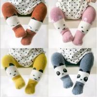 Legging tutup kaki anak import bahan tebal motif binatang
