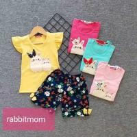 baju bayi/ setelan anak perempuan/kaos anak cewek