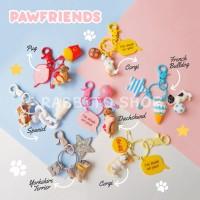 Gantungan Kunci Puppy Anjing Dog Lover / Dog Keychain Souvenir Hadiah