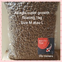 Akagoi super growth floating M 1 kg repacking