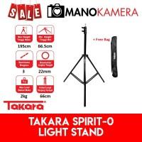 Light Stand Takara Spirit-0 Portable Lightstand Studio Flash Umbrella