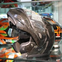 Zeus ZS3500 CARBON Modular Flip Up Double Visor Z3500