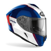 Airoh SPARK FLOW Blue Red Glossy Double Visor Free Pinlock
