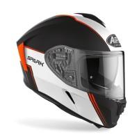 Airoh SPARK FLOW Orange Matt Double Visor Free Pinlock
