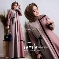 Famela maxy dress busana muslim gamis wanita