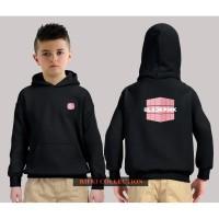 hoodie sweater anak black pink jaket anak 02