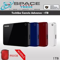 Toshiba Canvio Advance 1TB - HDD/ HD/ Harddisk External/Eksternal HDD