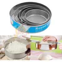Set6 Ayakan tepung dari stainless ukuran 15cm to 27cm komplit 2706