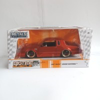 Jada Toys Diecast Big Time Muscle 1987 Buick Grand National Red