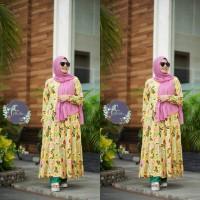 Midi Dress Flower Set Pasmina By Aletha