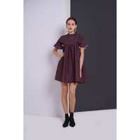 Dress Wanita EDITION ED75 Short Sleeveless - MAROON