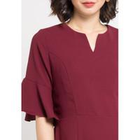 Dress Wanita EDITION Body Fit Ed19 - MAROON