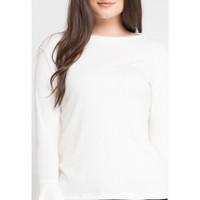 Blouse Wanita EDITION EBS8 Long Sleeve Woven - WHITE