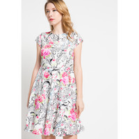 Dress Wanita EDITION Daisy Rose Ed9 - WHITE