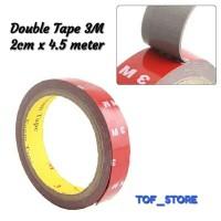 Double Tape 3M 2cm x 4.5 meter murah meriah