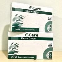 Sarung Tangan Karet / Latex Gloves | Pre-Powdered | 1 box = 100pcs = 5