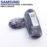 Headset Samsung Galaxy J1 Made In Indonesia Ori Black Edition