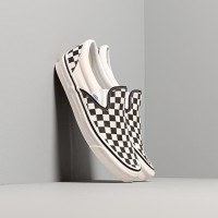 Grade Original! Sepatu Vans Slip On Checkerboard / Catur (Free Box) - Classic, 36