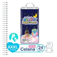 Mamy Poko Junior Night Pants Girls XXXL24