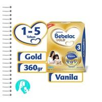 Bebelac Gold 3 360gr Rasa Vanila & Madu 1-5 Tahun
