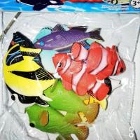 Mainan Aneka Ikan Hias Set Isi 12 Jenis
