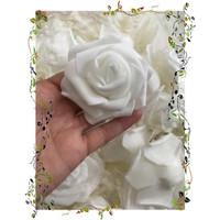 Jual 10 pcs Bunga mawar backdrop k5 Murah
