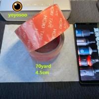 Lakban bening 2 Inch 90 Yard sazanami opp tape isolasi selotip
