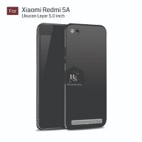 Darknight Xiaomi Redmi 5A Prime 5 Slim Case Black Matte Softcase Pr
