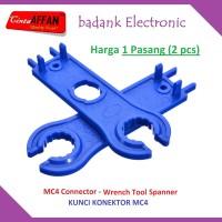 1 Pairs MC4 Connector Wrench Tool Spanner Kunci MC-4 Solar Panel Surya